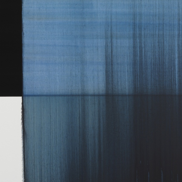 Callum Innes - Exposed Painting Paris Blue, 2018