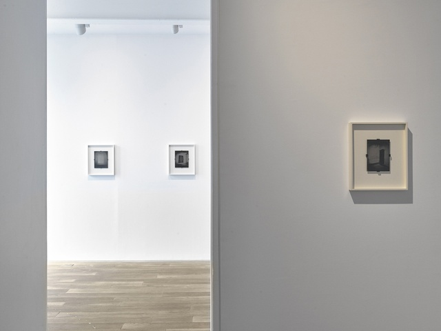 Installation view of Ben Cauchi's solo exhibition Echo Chamber Ingleby Gallery, Edinburgh (May - July 2015)