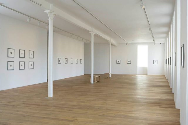 Installation view of the exhibition Francesca Woodman